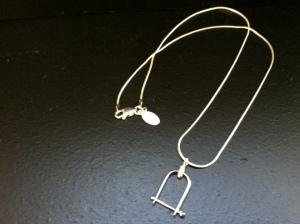 Stirrup pendant