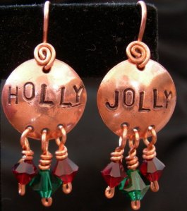 Have some Holly Jolly earrings!