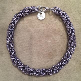 Black Ice Byzantine bracelet