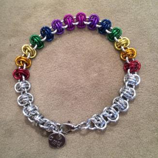 Rainbow Barrels bracelet
